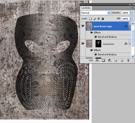 Duplicate the Layer and Delete Mask