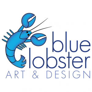 Blue Lobster Art and Design logo