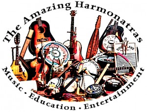 The Amazing Harmonatras logo