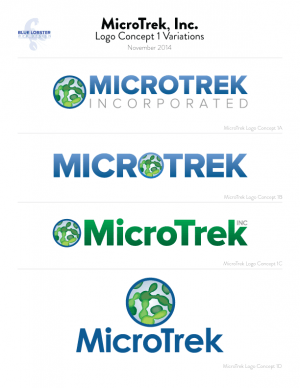 MicroTrek logo revisions round one