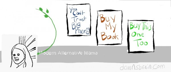 Modern Alternative Mama Facebook cover image parody