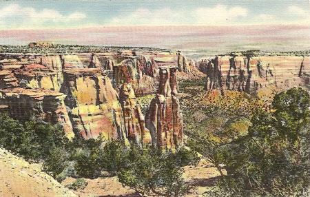 Scan of Original Vintage Postcard - click to enlarge