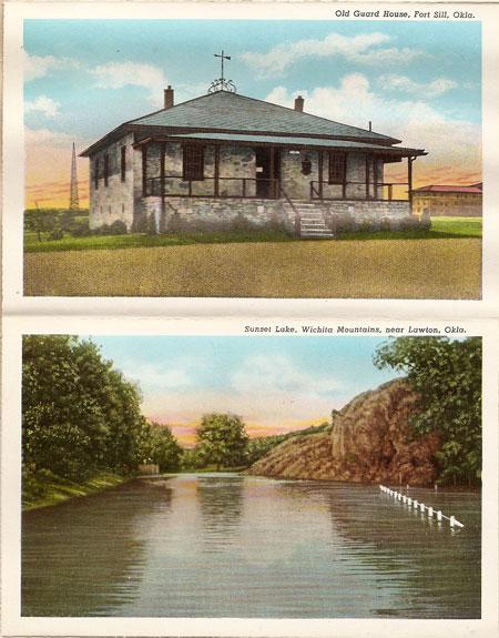 Billfold-Type Postcard Set