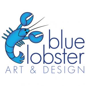 Blue Lobster Art and Design logo