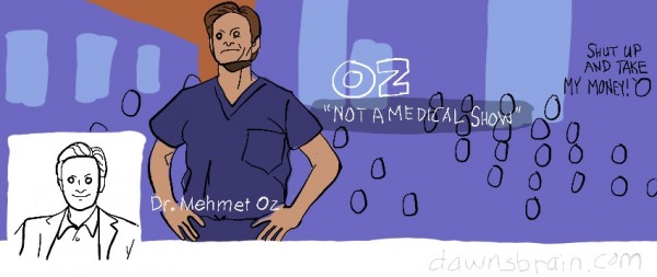 Dr. Mehmet Oz Facebook cover image parody