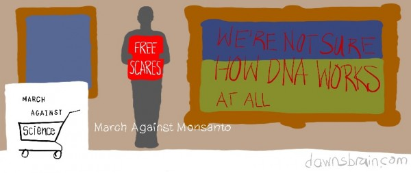 March Against Monsanto Facebook cover image parody