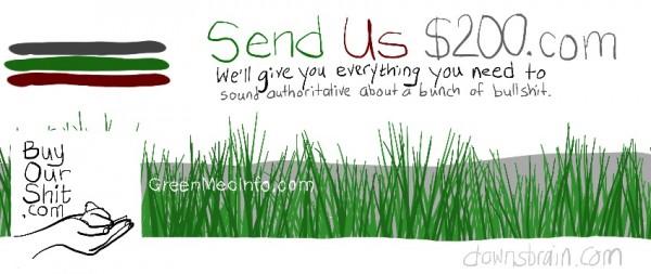 GreenMedInfo.com Facebook cover image parody