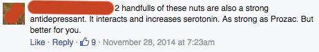Medical Medium Facebook comment
