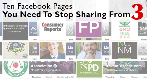 Ten Facebook Pages You Need to Stop Sharing From Part 3